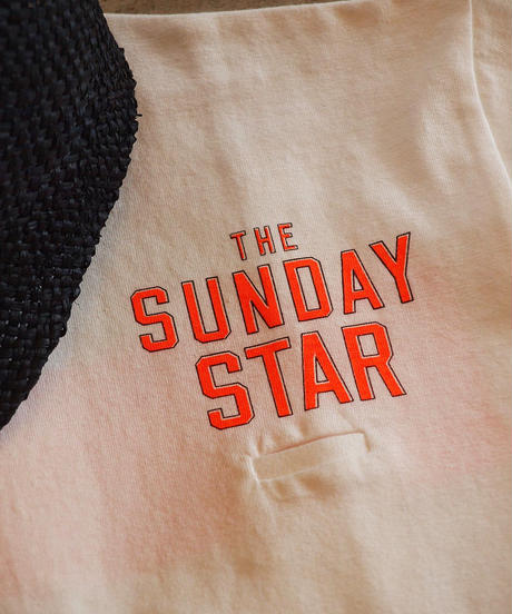 """RIDING HIGH "" 「GOOD -DAYS- SUPPLY,SUNDAY STAR」 Loop Wheel T-SHIRT"