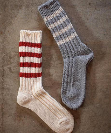 """decka quality socks""Heavyweight socks/Stripe"