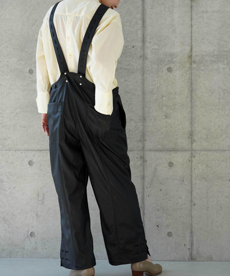 """""""RUMBLE RED"""" Eco Leather Overall"""