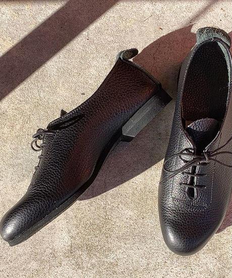 """受注生産 """"Bud"""" Leather Shoes"""