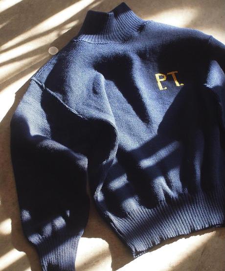 "再入荷!""ITALIAN ARMY""High Neck Sweater(P.T.刺繍)"
