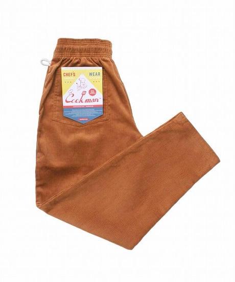"""COOKMAN"" Chef Pants[Corduroy.Brown]"