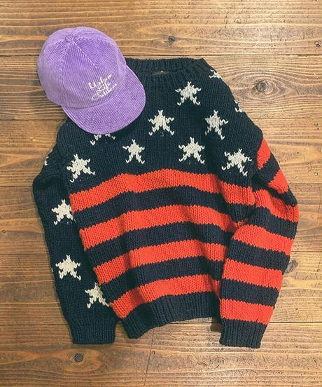 """SUNNY SPORTS""FLAG CREW SWEATER"