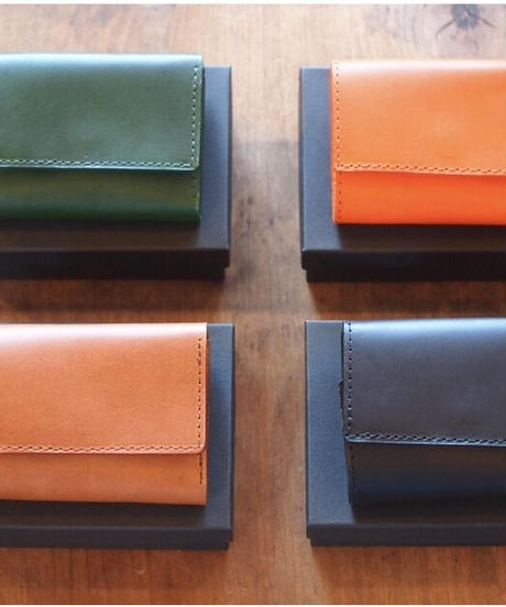 """ LONGDISTANC""Leather Wallet"