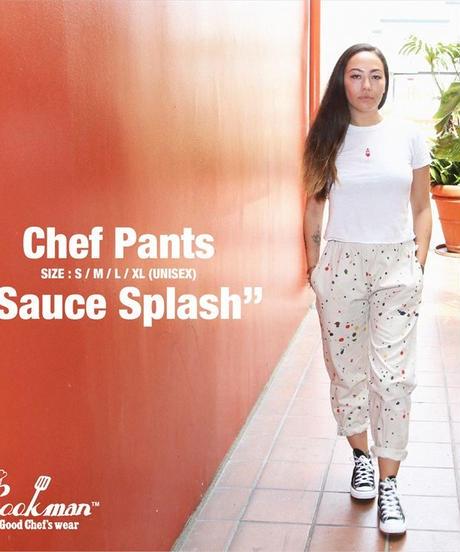 """COOKMAN"" Chef Pants[Sauce Splash]"