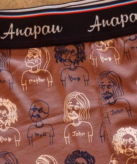 """Anapau""Boxer Pants[Love&Peace]"
