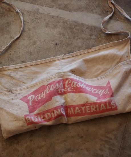 U.S.A. Vintage Apron 「Payless Chashways」