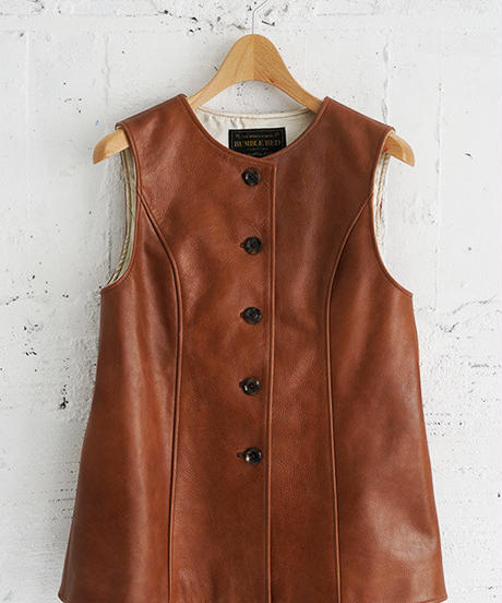 """RUMBLE RED"" Jerkin Vest"