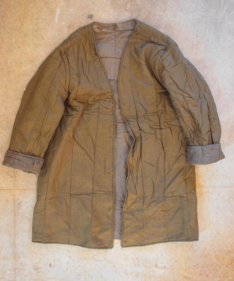 """Czech Army""1970's Military Liner Coat[DEAD STOCK]"