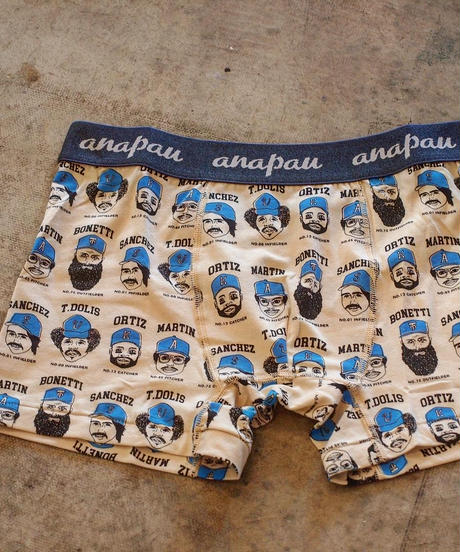 """""""Anapau"""" Boxer Pants[Baseball]"""