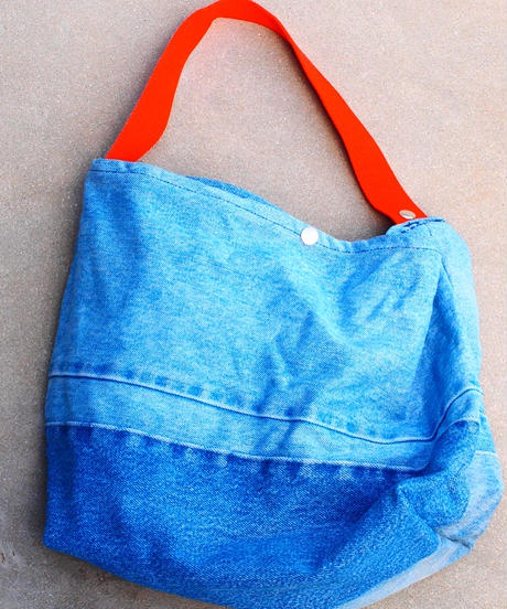"""Made by SUNNY SIDE UP"" 2way Denim Bag"