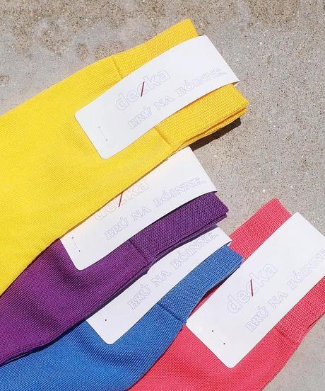 """""""decka×BRU NA BOINNE"""" Beautiful Socks"""