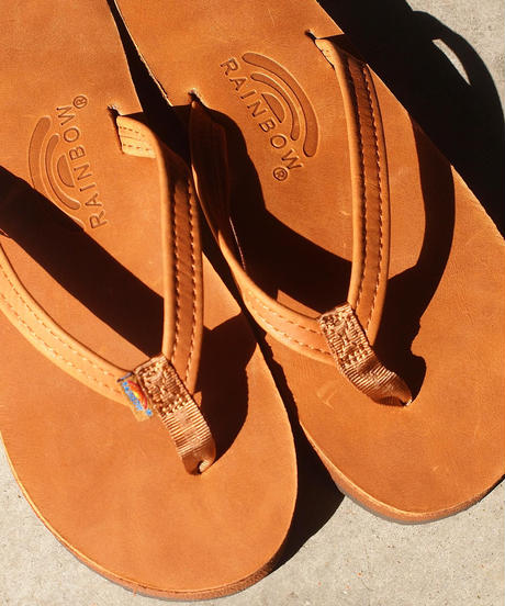 """""""RAINBOW SANDALS""""Classic Leather Double Layer Sandal"""