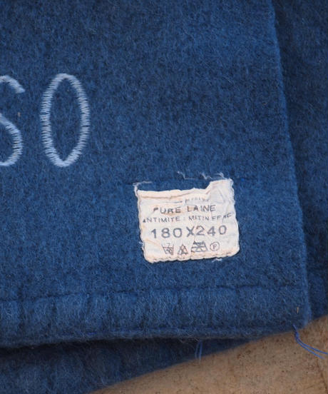 """""""FRENCH Military"""" Wool Blankets"""