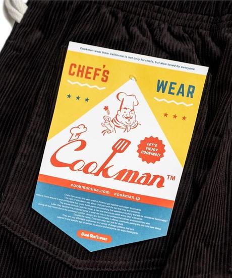 """""""COOKMAN"""" Corduroy Chef Pants"""