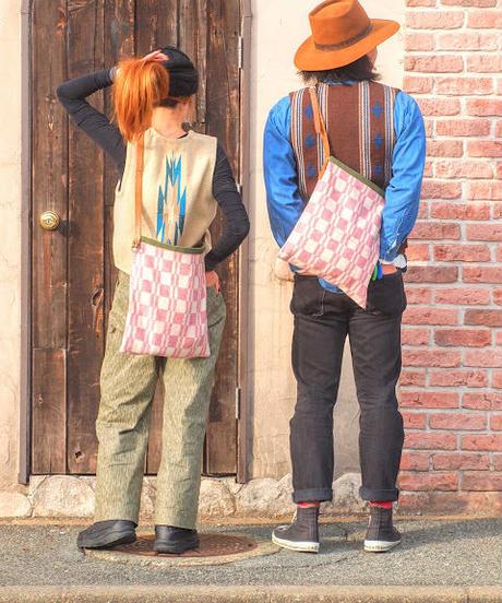 """""""MITAKUYE Original"""" Army Remake Shoulder Bag"""