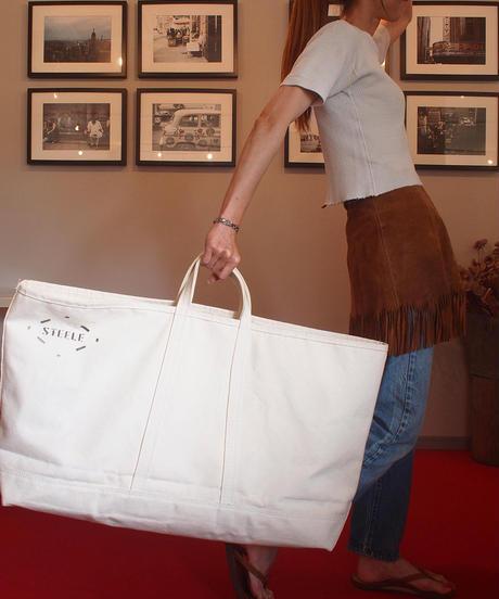 """STEELE CANVAS BASKET"" Wide Tote Bag"