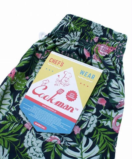 """COOKMAN"" Chef Pants[Tropical]"