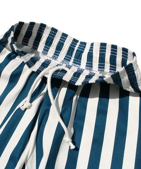 """COOKMAN"" Chef Pants[Wide Stripe/Blue]"