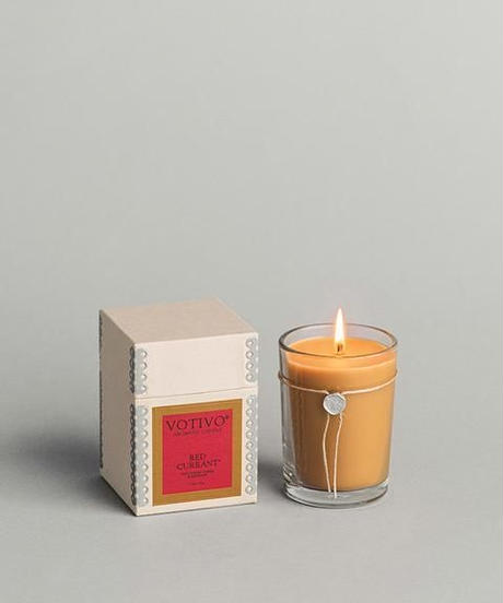 """VOTIVO""6.8oz Aromatic Candle[RED CURRANT]"
