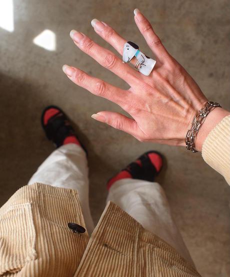 """ZUNI""Jewelry Inlay Ring"