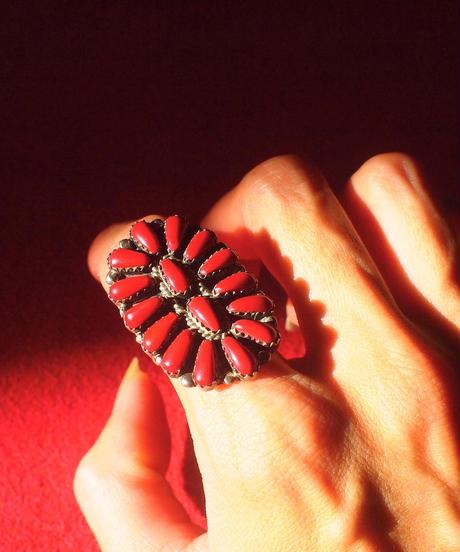"""""""NAVAJO"""" Cluster Ring"""