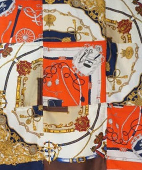 digawel Upcycle Stole(vintage patchwork)