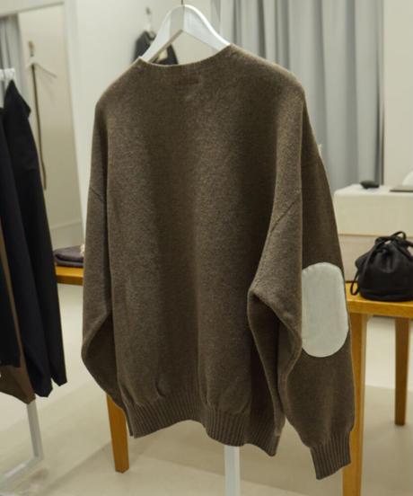 beta post elbowpatch sweater