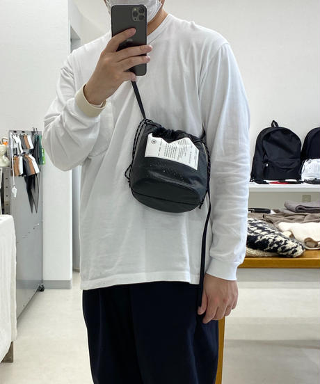 TAITAI × rereverse PUNCHING LEATHER UL COLLERBAG2