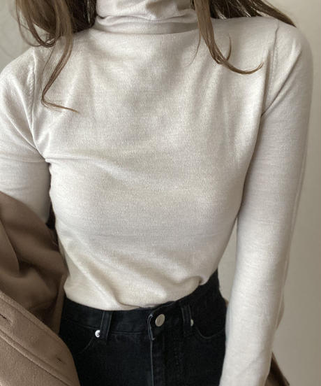 turtle knit tops
