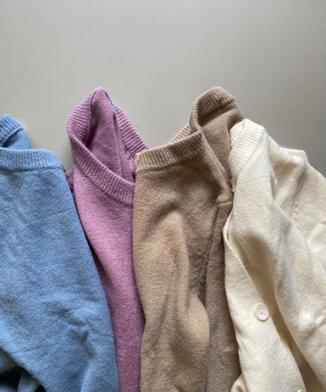 candy color cardigan