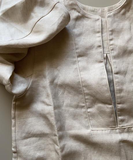 herringbone linen onepiece