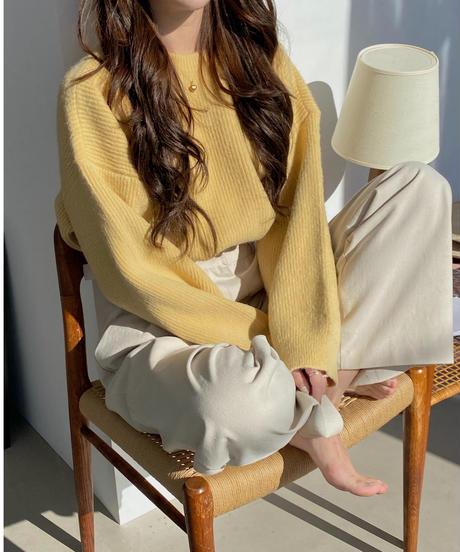 《予約販売》jenny knit (4color)