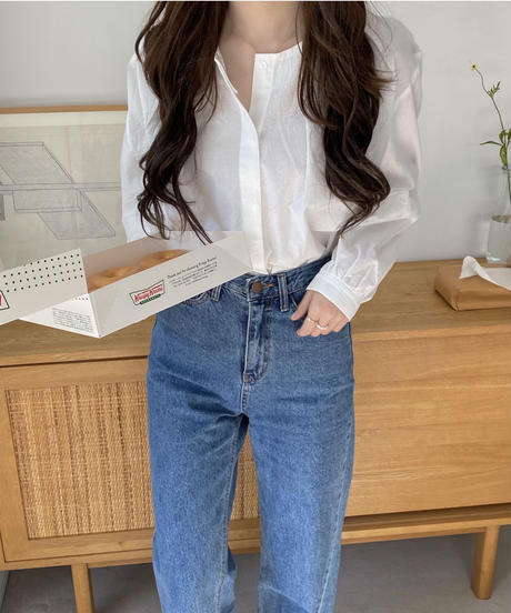 《予約販売》mine blouse (2color)