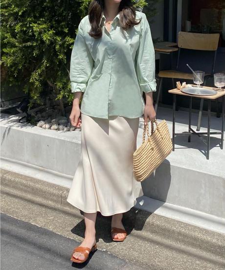 《予約販売》closet flare skirt (2color)