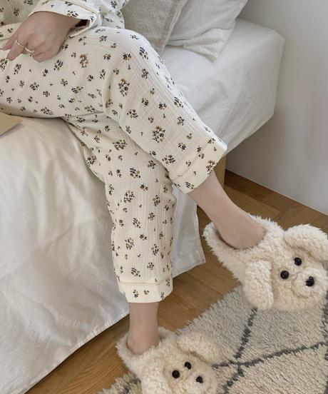 《予約販売》cotton flower pajamas