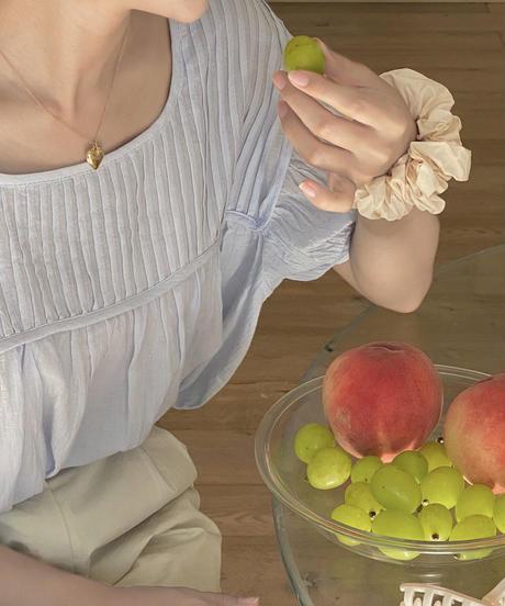 half tuck blouse (2color)