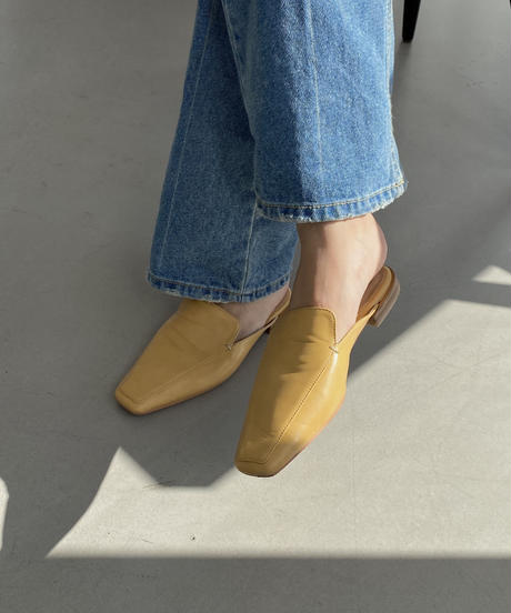 《予約販売》washing boots cut denim