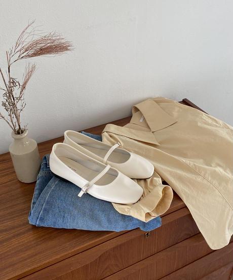 《予約販売》bailey strap shoes (2color)