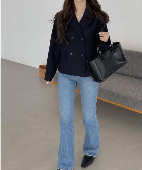 《予約販売》cozy double jacket (2color)