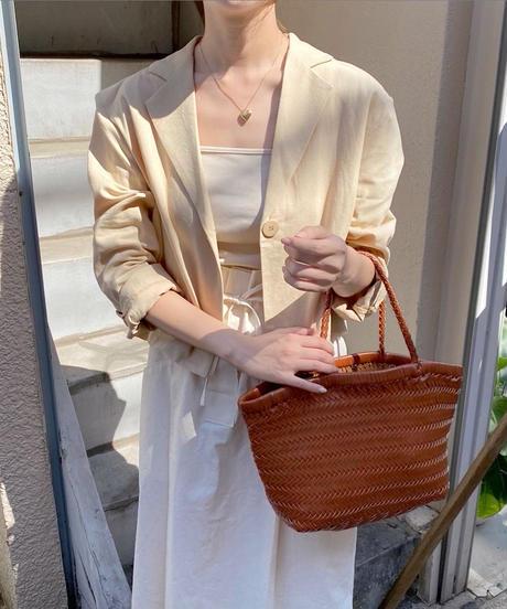 linen short jacket (2color)