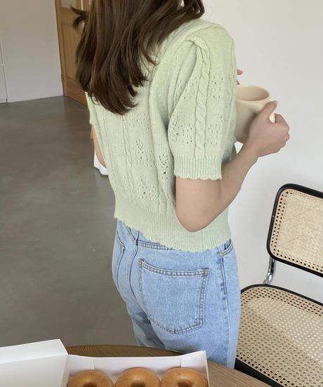 《予約販売》muse ribbon knit (3color)