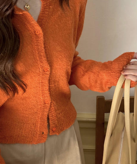 《 restock》mohair cardigan (3color)