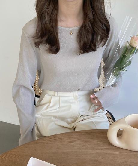 《予約販売》sherbet pleats blouse