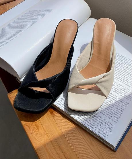 《予約販売》pletzel heal sandal (2color)