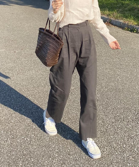 《予約販売》a/w ver. romantic chino pants (2color)