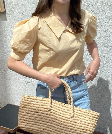 《予約販売》hazel blouse (2color)