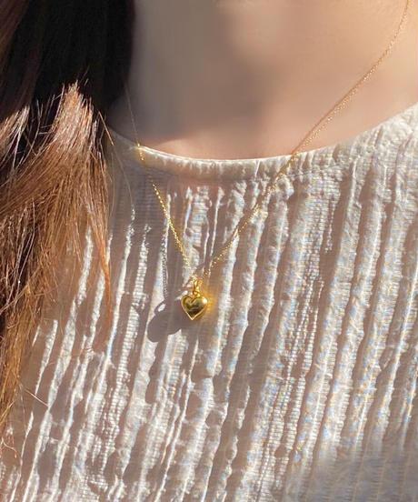 《予約販売》silver925 heart necklace (2color)