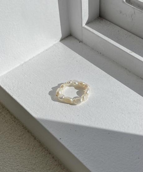 《予約販売》 freshwater pearl ring