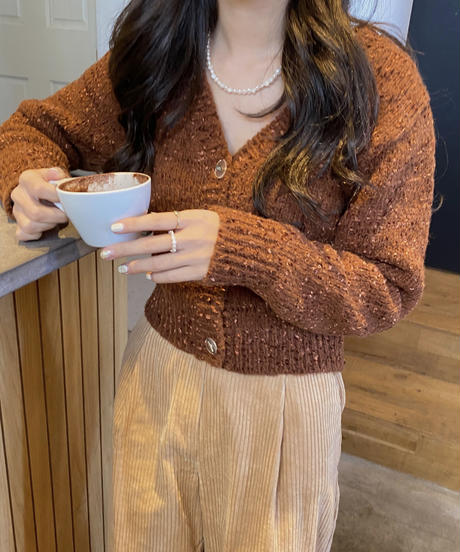 《予約販売》shine cardigan(3color)